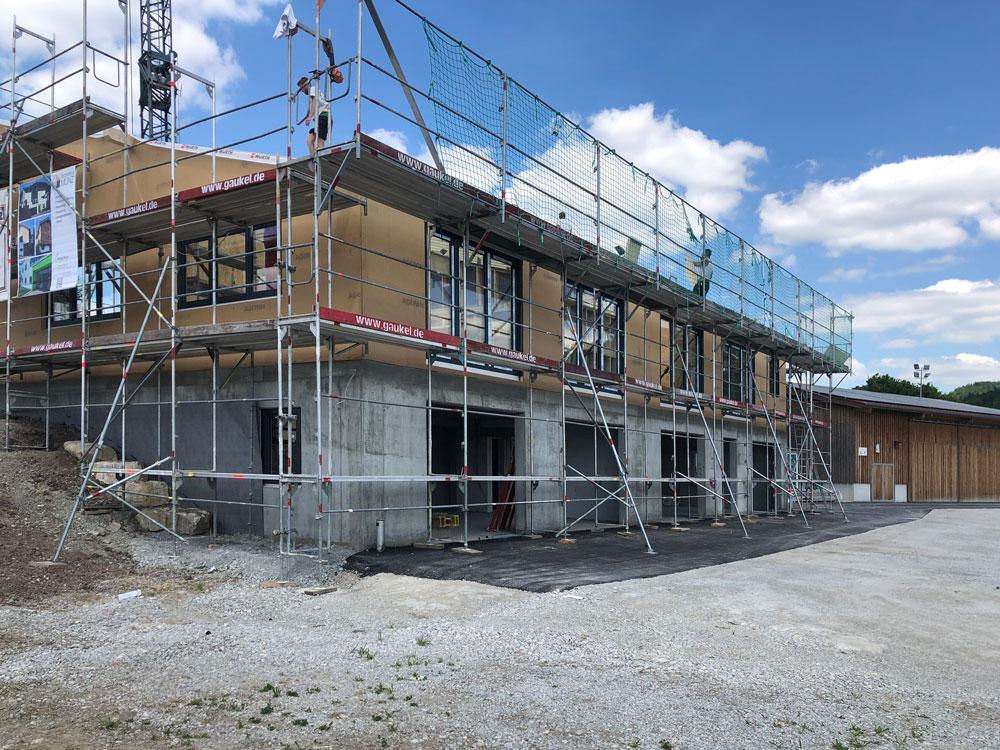 Neubau Sportstätte für den MSC Gaildorf